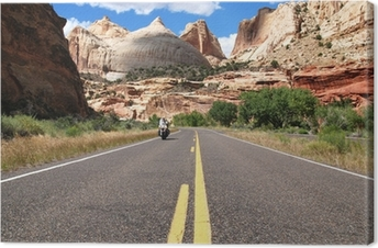 Canvas Riding Capitol Reef