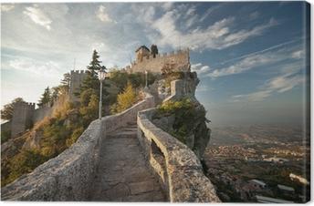 Canvas Rocca della Guaita Kasteel in San Marino