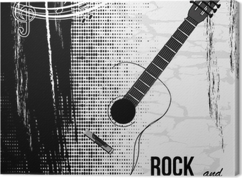 Canvas Rock and roll ontwerp