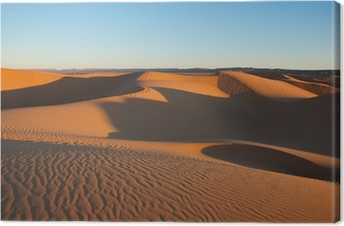 Canvas Sahara woestijn, Marokko