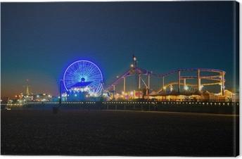 Canvas Santa Monica Pier