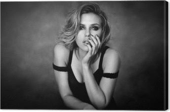 Canvas Scarlett Johansson