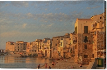 Canvas Scenes van Sicilië