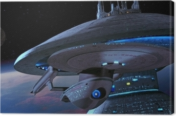 Canvas Ship from Star Trek