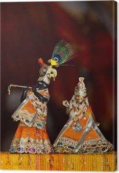 Canvas Shri Shri Radha Krishna