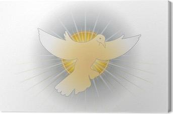 Canvas Simbolo dello Spirito Santo (colomba)