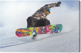 Canvas Snowboard evolutie