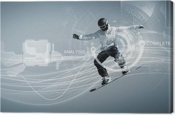 Canvas Snowboarden