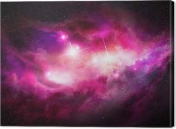 Canvas Space Nebula - Interstellar Cloud