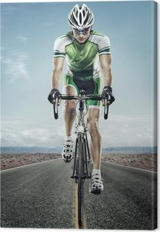 Canvas Sport. Road cyclist