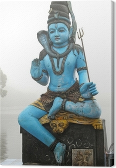 Canvas Standbeeld shiva