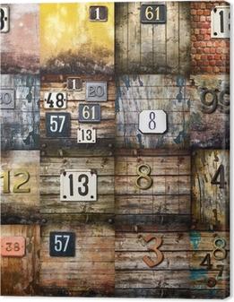 Canvas Stedelijke kunst collage