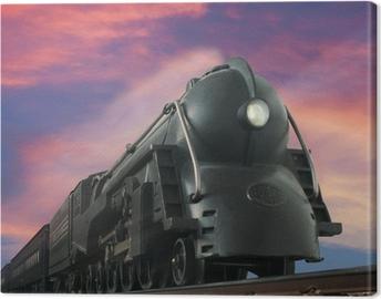 Canvas Streamliner trein