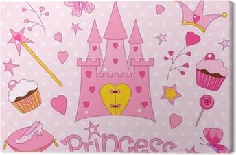 Canvas Sweet Princess Iconen