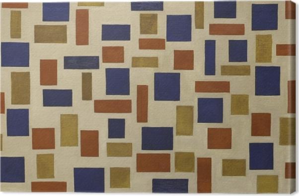 Canvas Theo van Doesburg - Kompozice XI - Reproductions