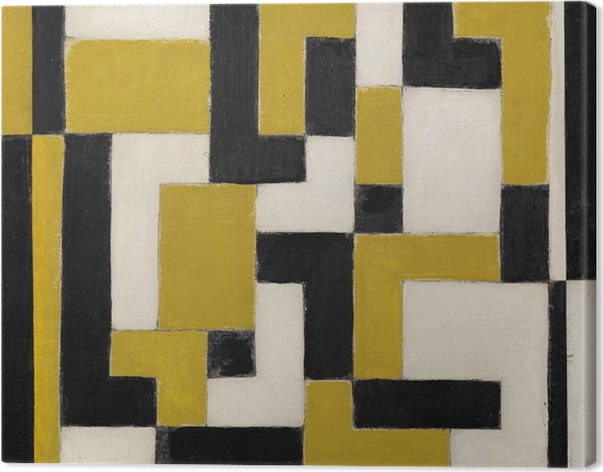 Canvas Theo van Doesburg - Kompozice - Reproductions