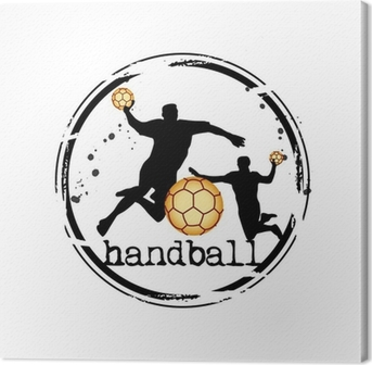 Canvas Timbre handbal