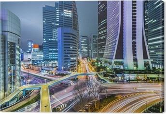Canvas Tokyo Japan bij West Shinjuku Skyscraper District
