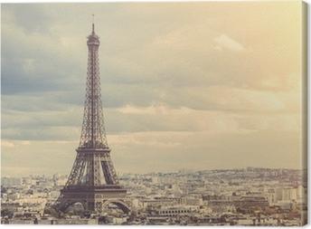 Canvas Tour Eiffel in Parijs