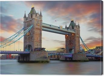Canvas Tower Bridge in Londen, UK
