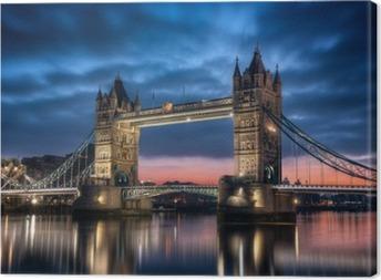 Canvas Tower Bridge Londres Angleterre