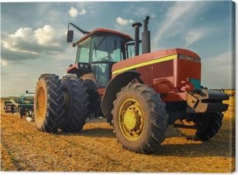 Canvas Tractor op het gebied van de landbouw