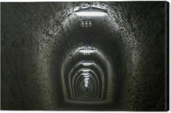 Canvas Tunnel van het leven