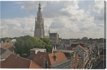 Canvas Uitzicht over Breda