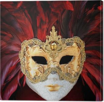 Canvas Venetiaans Carnaval masker