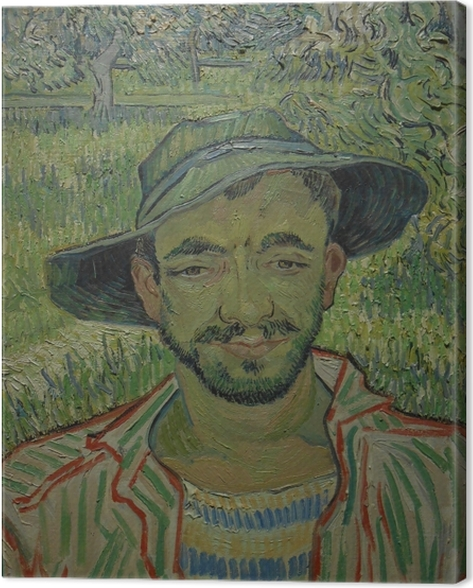 Canvas Vincent van Gogh - De tuinier - Reproductions
