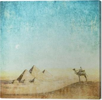 Canvas Vintage achtergrond