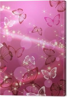 Canvas Vlinder 々