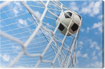 Canvas Voetbal, Goal, Voetbal.