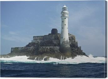 Canvas Vuurtoren, Fastnet Rock, County Cork, Ierland