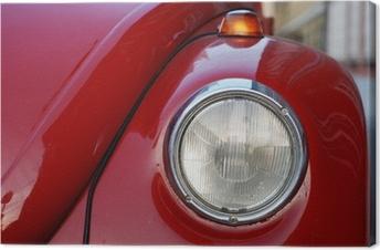 Canvas VW Volkswagen Beetle Old