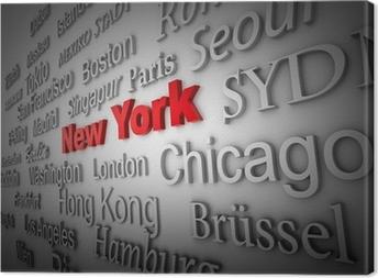 Canvas Weltstadt2 New York