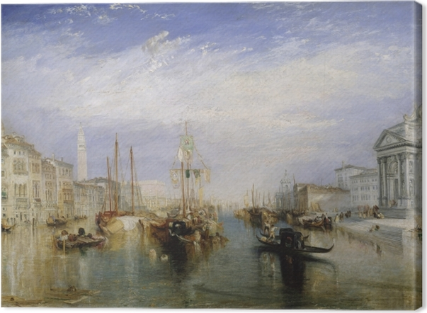 Canvas William Turner - Canal Grande - Reproducties