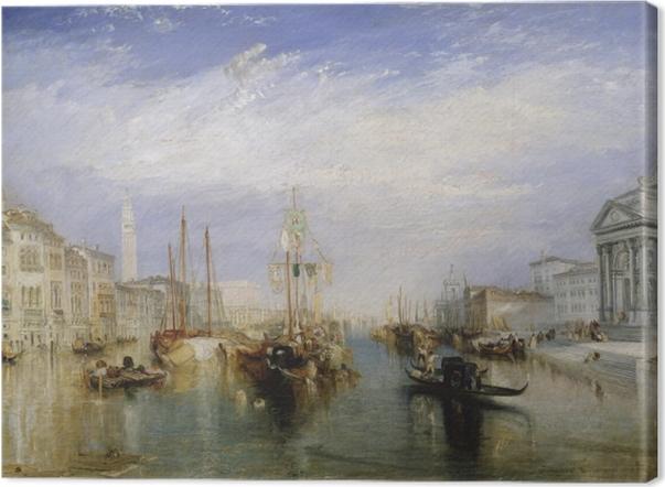 Canvas William Turner - Canal Grande - Reproducties