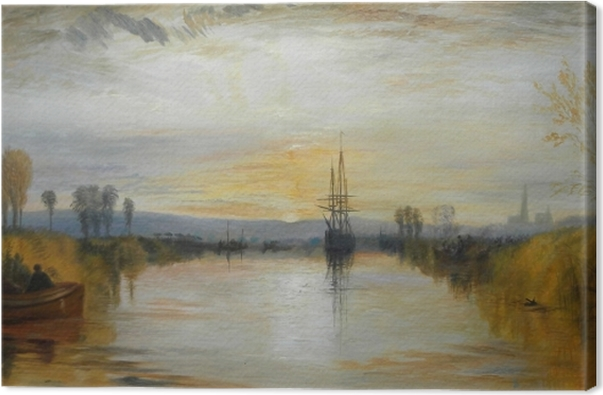 Canvas William Turner - Chichester Canal - Reproducties