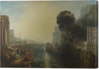 Canvas William Turner - Het verval van Carthago
