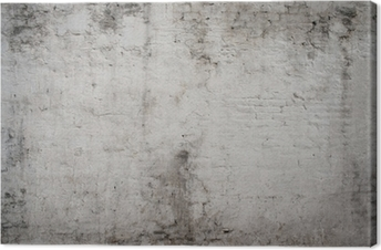 Canvas Wit grijs oude vintage cement straat roestige grunge verouderde ruw