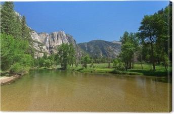 Canvas Yosemite Falls
