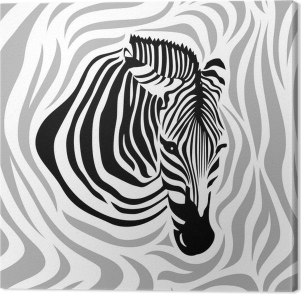 Canvas zebra hoofd naadloze patroon zwarte grijze en witte stroken canvas zebra hoofd naadloze patroon zwarte grijze en witte stroken vectorillustratie gesoleerd op thecheapjerseys Gallery