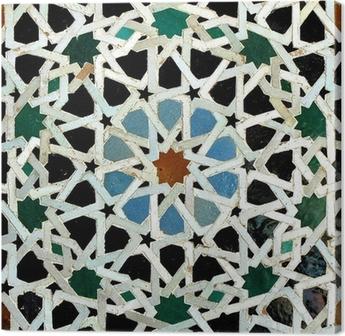 Canvas Zelliges (Fès, Maroc)