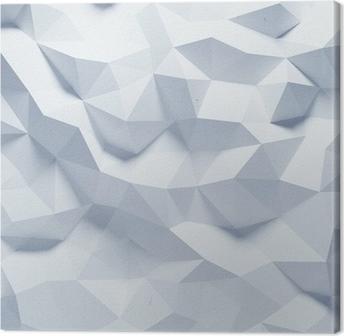 Canvastavla Abstrakt facetterad geometrisk papper bakgrund