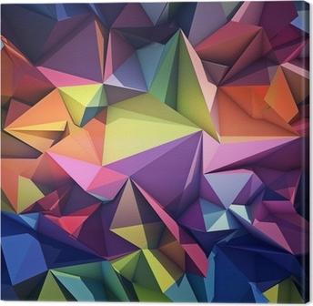 Canvastavla Abstrakt geometrisk bakgrund