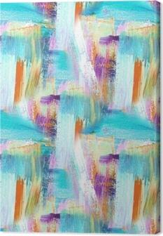Canvastavla Abstrakt konst bakgrund. handmålade bakgrund. akrylbild. sömlöst mönster.
