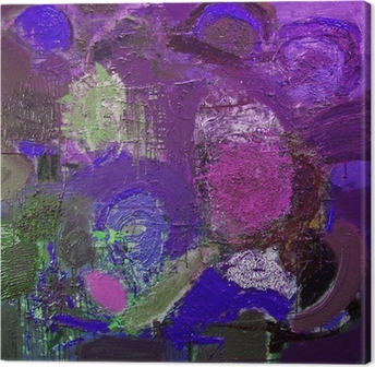 Canvastavla Abstrakta tecken