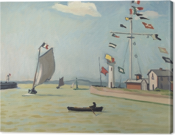 Canvastavla Albert Marquet - Honfleur - Reproductions