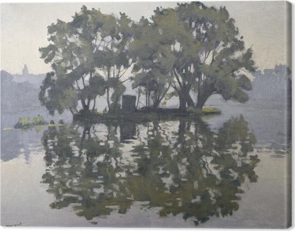 Canvastavla Albert Marquet - Zwaneneiland - Reproductions